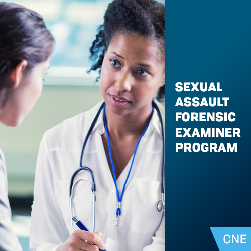 Sexual Assault Forensic Examiner Program  - Online Course